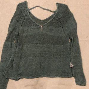 bar back sweater